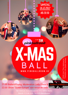 X MAS Ball Flyer A6 online